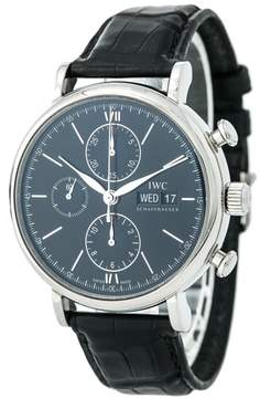 IWC Portofino IW391008 Stainless Steel 42mm Automatic Mens Watch