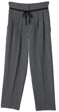 MANGO Check pleated trousers