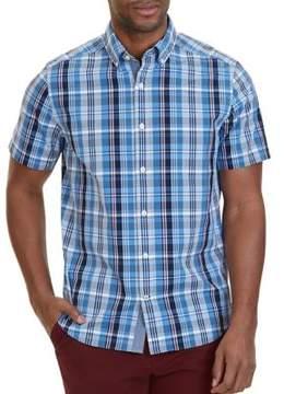 Nautica Classic Fit Plaid Button-Down Shirt