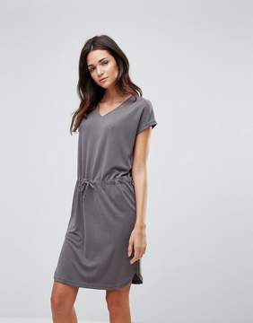 B.young T-Shirt Dress With Waist Tie