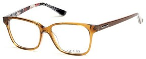 GUESS Eyeglasses GU 2506 047 light brown/other