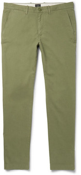 J.Crew 770 Slim-Fit Herringbone Brushed Stretch-Cotton Trousers