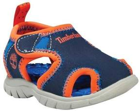 Timberland Toddlers Little Harbor Navy-White/Royal/Orange Sandal 12 Kids US