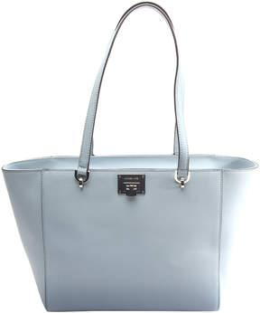 Michael Kors Pale Blue Tina Leather Tote - PALE - STYLE