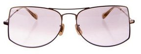 Oliver Peoples Tinted Rectangular Sunglasses