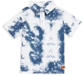 7 For All Mankind Little Boy's Dyed Cotton Polo