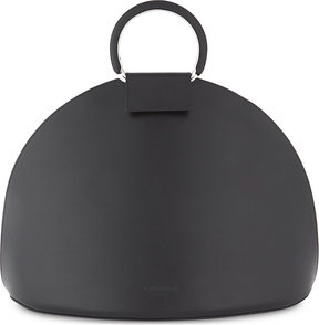 CALVIN KLEIN 205W39NYC Ring medium leather dome tote