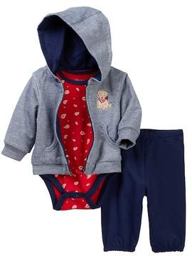 Little Me Puppy Hoodie Set (Baby Boys)