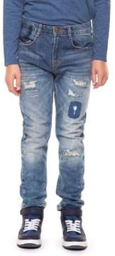Dex Boy's Classic Distressed Jeans
