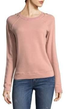 Amo Distressed Sweater