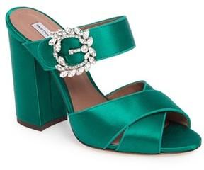 Tabitha Simmons Women's Reyner Crystal Buckle Sandal