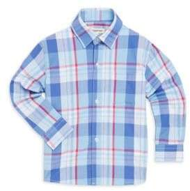 Appaman Toddler's, Little Boy's& Boy's Standard Plaid Cotton Collared Shirt