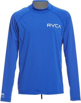 RVCA Boy's Solid Long Sleeve Rashguard 8159451