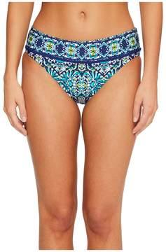 LaBlanca La Blanca Tuvalu Banded Hipster Bikini Bottom Women's Swimwear