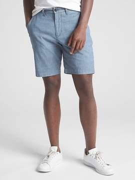 Gap 10 Wearlight Chambray Shorts with GapFlex