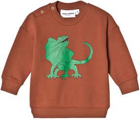 Mini Rodini Brown Draco Sweatshirt