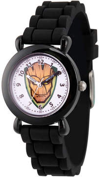 Marvel Guardian Of The Galaxy Boys Black Strap Watch-Wma000148
