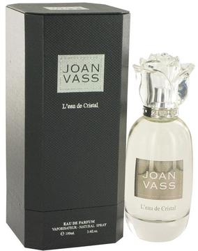 Joan Vass L'Eau De Cristal Eau De Parfum Spray for Women (3.4 oz/101 ml)