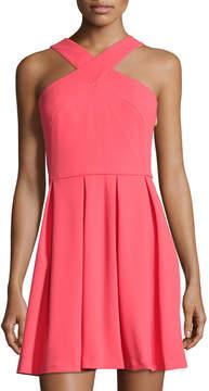Cynthia Steffe Eden Cross-Front Dress, Pink