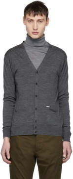 DSQUARED2 Grey Wool Cardigan