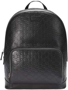 Gucci Signature backpack - BLACK - STYLE