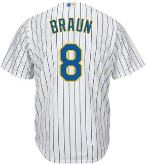 Majestic Men's Milwaukee Brewers Ryan Braun Cool Base Replica MLB Jersey