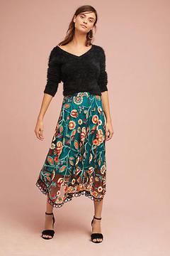 Eva Franco Soleil Floral Skirt