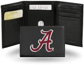 Rico NCAA Embroidered Leather Trifold Wallet - Alabama