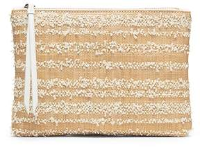 Banana Republic Straw Small Zip Pouch