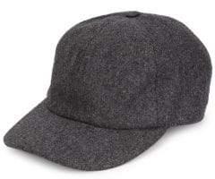 Brunello Cucinelli Flannel Baseball Hat