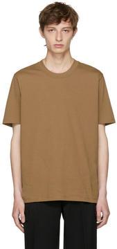 Jil Sander Brown New Fit T-Shirt