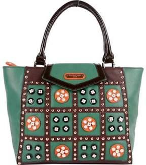 Nicole Lee Daysha Flowery Embellish Tote Bag (Women's)