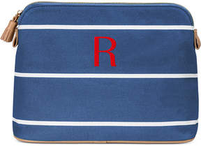 Cathy's Concepts Personalized Striped Cosmetic Bag