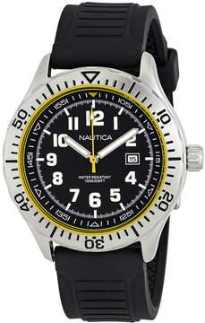 Nautica NSR 105 Black Dial Men's Watch