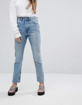 Weekday Line Vintage Feel Straight Leg Jeans