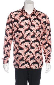 Marc Jacobs 2015 Floral Silk Shirt