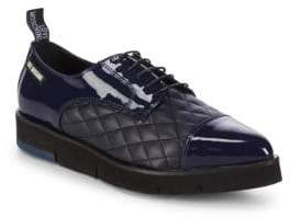 Love Moschino Quilted Platform Derbys