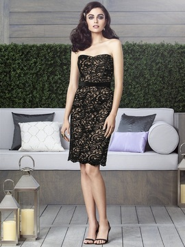 Dessy Collection 2911BL Dress in Cappuccino