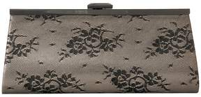 Jessica McClintock Sloan Sparkle Lace Framed Clutch Clutch Handbags