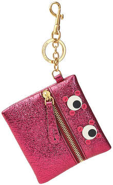 Anya Hindmarch Metallic Leather Keychain