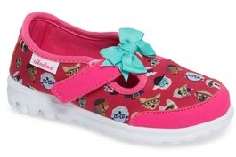 Skechers Infant Girl's Go Walk Bow Wow Sneaker
