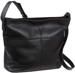 Le Donne Leather Two Slip Pocket Hobo