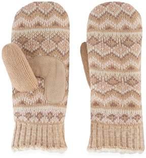 Isotoner Women's Fairisle Knit Mittens