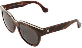 Balenciaga Round Acetate Sunglasses