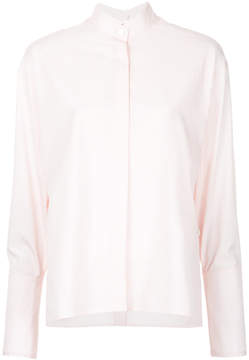 Dion Lee quarter frayed shirt