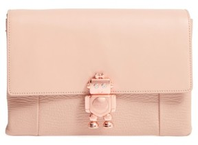 Ted Baker Jemms Leather Crossbody Bag - Beige