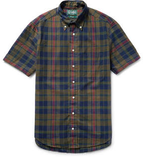Gitman Brothers Madras-Checked Cotton Shirt