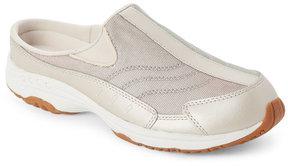 Easy Spirit Light Gold & White Travel Slip On Sneakers