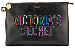 Victoria's Secret Victorias Secret Rainbow Large Beauty Pouch