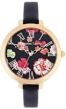 Christian Lacroix Women's Oeillet Quartz Watch, 38mm